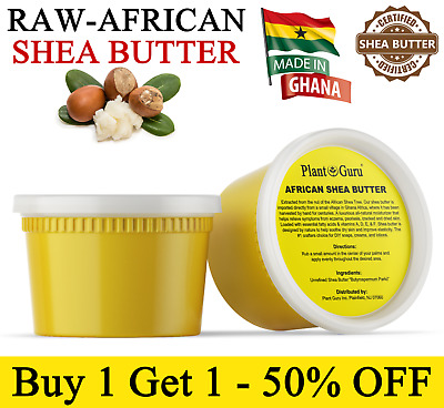 Raw African Shea Butter 16 oz. / 1 lb. 100% Pure Organic Unrefined From Ghana