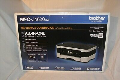 Brother Business Smart MFC-J4620DW Inkjet All-in-One Printer Factory Sealed.