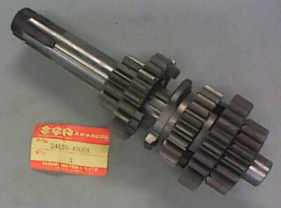 Suzuki Gs1000 , 78-80  Countershaft Assy  24120-49001 New Original Parts