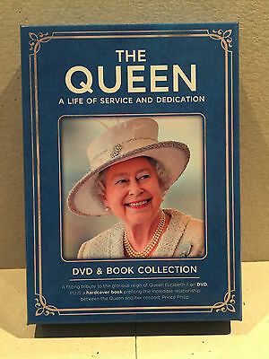 The Queen A Life Of Service & Dedication Dvd & Book Collection - Christmas Gift