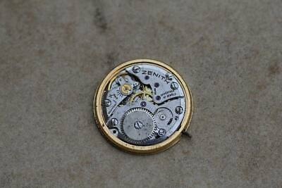 wrist watch movement Zenith cal 2320 for spare parts or repair