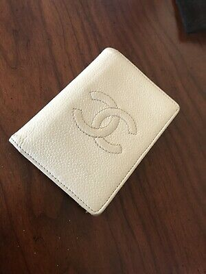 ddb29178d7fc8c AUTHENTIC CHANEL PINK Caviar Leather CC Logo Classic Card Holder ...
