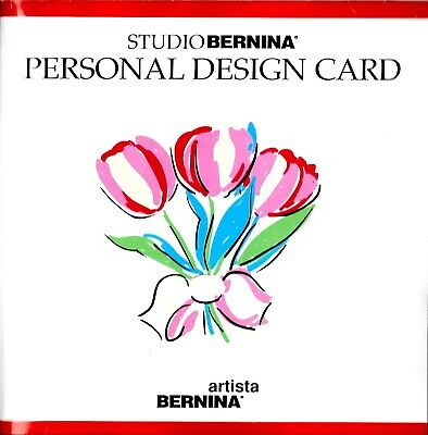 PERSONAL DESIGN CARD Embroidery Memory Card for Bernina Artista 165 170 180 700