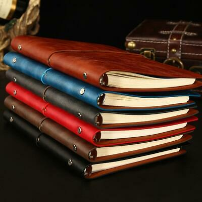 Universal Faux Leather Notebook Writing Notepad Travel Journal Diary Book