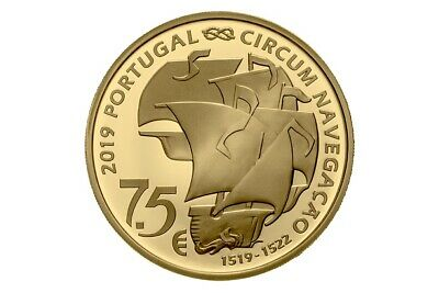 7,50 euro Portugal 2019 or BE – 500 ans Magellan