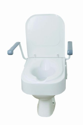 Drive Raised Toilet Seat with Flip Up Arms
