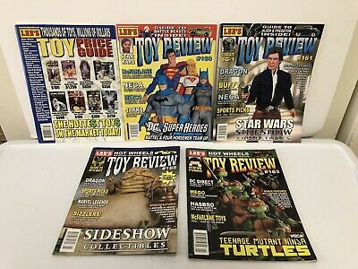 Lee's Toy Review Price Guide 160 161 166 & 168 Magazine Lot 2006