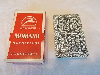 Modiano Napoletane Playing Cards  Sealed in original plastic   Made in Italy