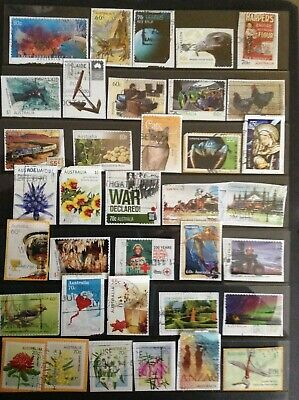 200 All Different  RECENT QUALITY AUSTRALIAN stamps inc high values