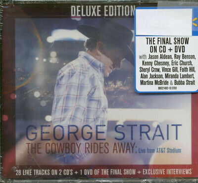 9e11d15b GEORGE STRAIT - The Cowboy Rides Away: Live From At&T Stadium New Cd ...