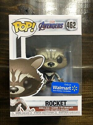 FUNKO POP! THE Avengers Endgame Rocket Quantum Realm Suit Walmart