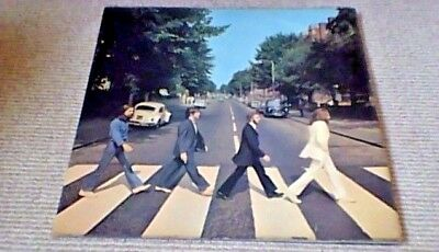 THE BEATLES ABBEY ROAD 4th Press Aligned Apple Stereo UK LP 1969 PCS 7088