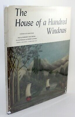 The House of a Hundred Windows Margaret Wise Brown Vtg Childrens 1st Edition