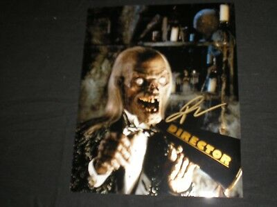 JOHN KASSIR Signed Cryptkeeper 8x10 Photo Tales of the Crypt Autograph A
