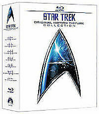 Star Trek - Original Motion Picture Collection 1-6 [Blu-ray] New Sealed