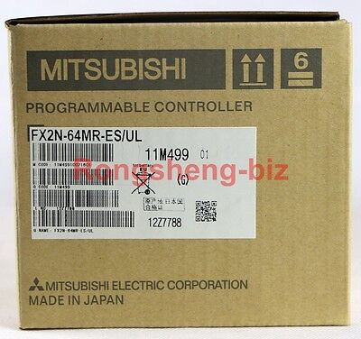 1Pc Mitsubishi Fx2N-64Mr-Es/Ul Fx2N64Mresul Plc New In Box #Rs8