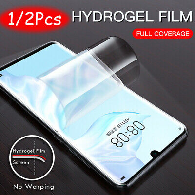 For Huawei P30 Pro Lite Full Cover Soft 9D Hydrogel TPU Screen Protector De jc