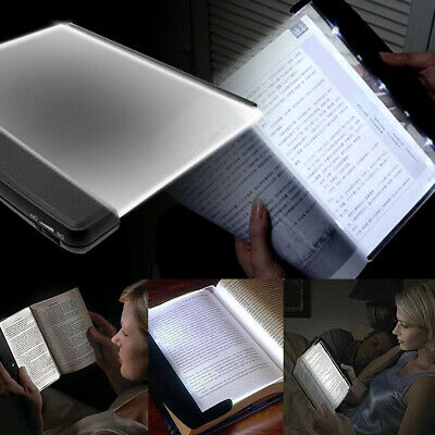 AU Creative Book Light LED Panel Lamp Night Vision Travel Reading Useful Gadget