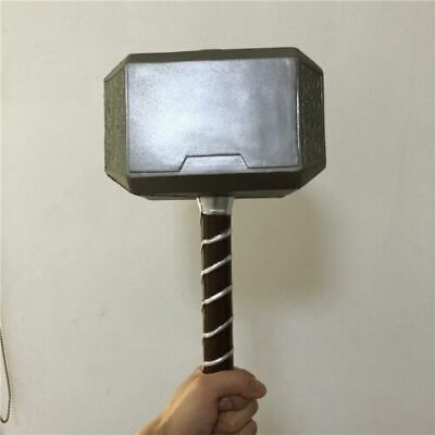 1:1 Scale Thor's Thunder Hammer Avengers Endgame Prop Cosplay Safe FREE SHIPPING