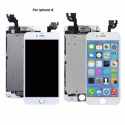White Screen Display for iPhone 6 A1549 A1586 LCD Full Replacement W/ Button