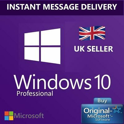 windows 10 pro profesional win 64bit 32bit Original activation license key