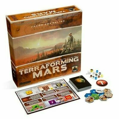 Terraforming Mars Board Game Brand New Ages: 12 + | Players: 1 - 5