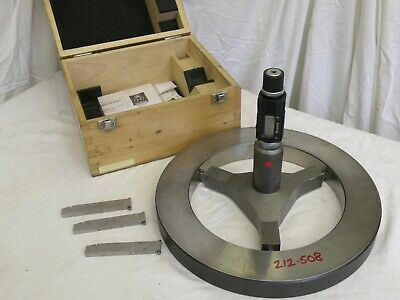 Bowers MKII 200-225mm Digital Bore Micrometer. With Gauge Ring.