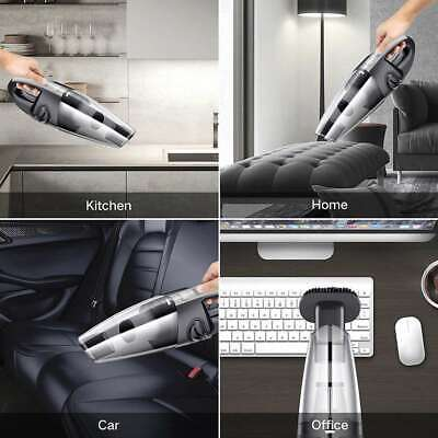 Car Vacuum Cleaner Cordless Handheld Wet Dry Portable Vac Home Auto