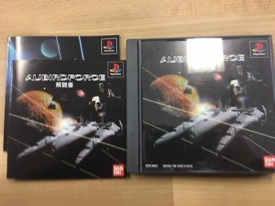 Ps1 PLAYSTATION Aubird Force Giappone JP Gioco A170