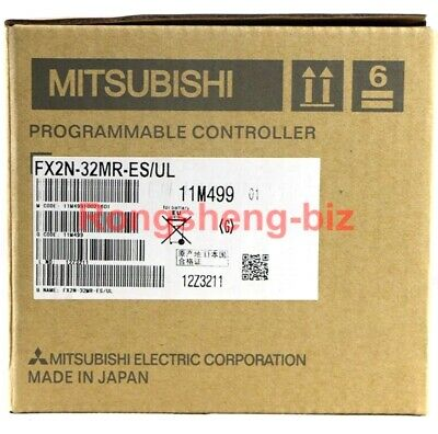 1PC MITSUBISHI PLC FX2N-32MR-ES/UL PLC New In Box