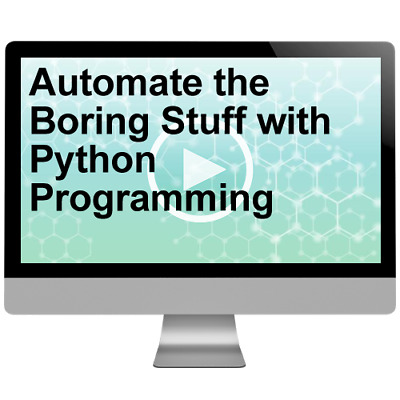 Automate the Boring Stuff with Python Programming Video Training