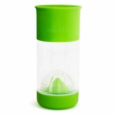 Munchkin Miracle 360 Fruit Infuser Cup 14oz - Green