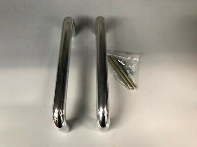 TGS 1908BB Round Bar 300 x19mm Back to Back Fix Pull Handle D Shaped Pull Handle