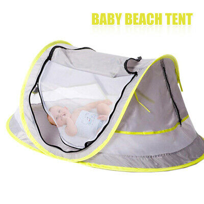 Pop Up Baby Beach Tent UV Portable Travel Shelter Sun Shade Kids Childrens Play