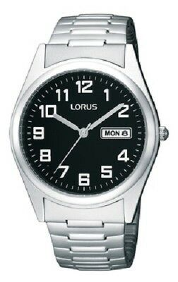 Lorus Gents Stainless Steel Expanding Bracelet Watch RXN13CX9F £35.95