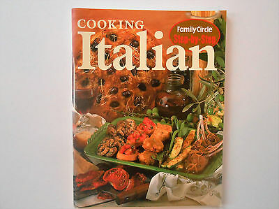 ## Family Circle Step-By-Step - Italian Cookbook **Like New