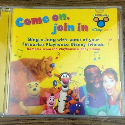 Rare Disney Promotional Playhouse Sing Along Cd Not Released Come Join In Album