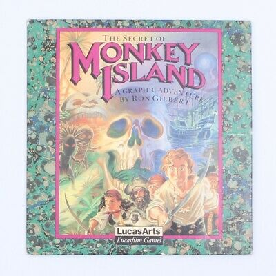 The Secret of Monkey Island (LucasArts) CD-ROM Game for IBM PC MS-DOS (1992)