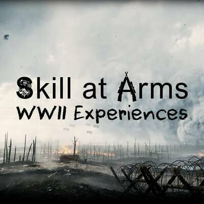 Saturday 20th July Escape Reality and Play Games! WWII Rifle Shooting Experience