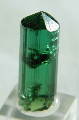 A VERY Gemmy Terminated Tourmaline Crystal on a Stand! From Brazil 2.19 e