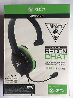 Turtle Beach Recon Chat Xbox One Gaming Headset in black