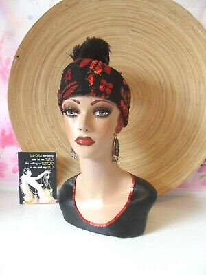 Vintage style hand painted mannequin head and shoulders