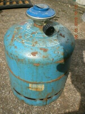 Campingaz 907 bottle butane gas cylinder  Half Full with Adaptor