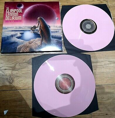 The Claypool Lennon Delirium South Of Reality 2x LP Pink Vinyl 180G + DLoad Code