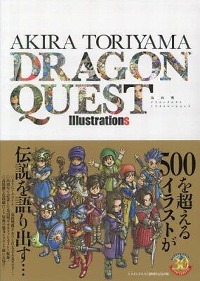 Artbook Dragon Quest Illustrations - Akira Toriyama