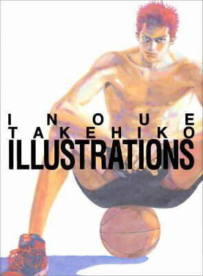 Artbook Inoue Takehiko Illustrations (Slam Dunk)