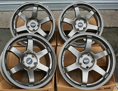 "Alloy Wheels X 4 17"" Grey St16 For Audi A4 A5 A6 A7 A8 Q3 Q5 Q7 Coupe"