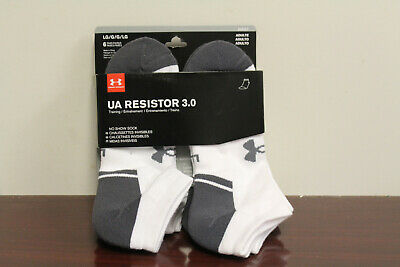 276512894c3c UNDER ARMOUR MEN'S UA Resistor III Athletic Crew Socks - 6 Pack ...