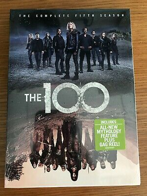 The 100 - Season 5 Complete Dvd New Sealed