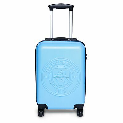 Manchester City Travel Suitcase Sky Cabin Sized Kids Football Fanatics